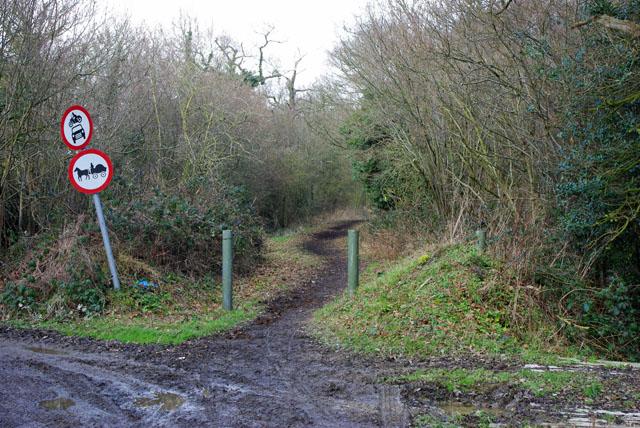 Peeks Brook Lane - very restricted byway