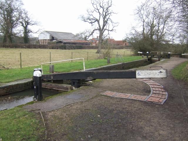 Lapworth Locks - Lock No. 6