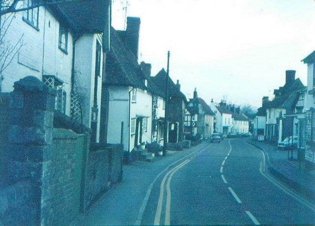 Eyhorne Street in 1968