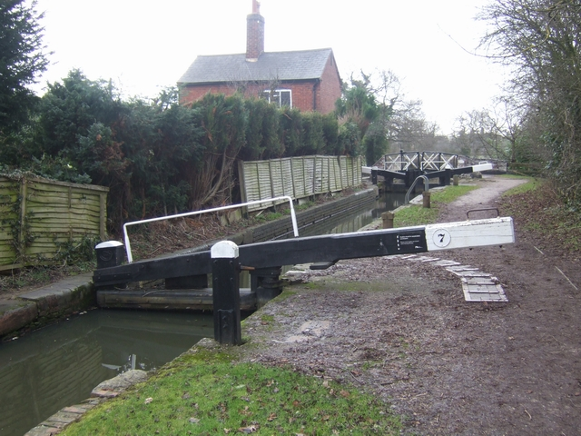 Lapworth Locks - Lock No. 7