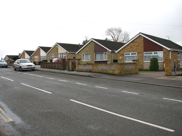 Bungalows in Lords Lane, Bradwell