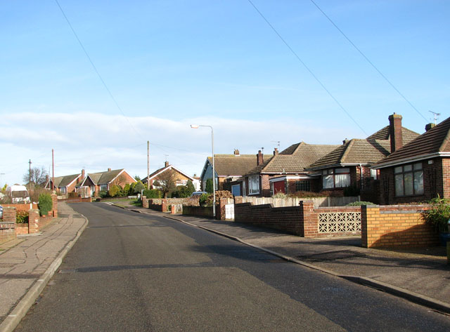 Bungalows in Dorothy Lane, Bradwell