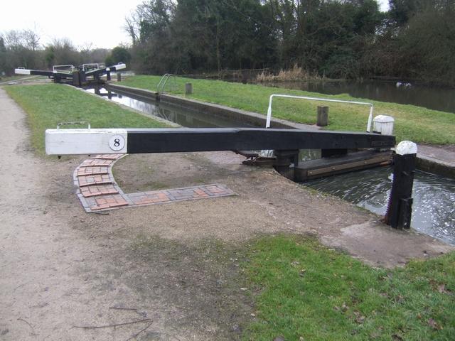 Lapworth Locks - Lock No. 8