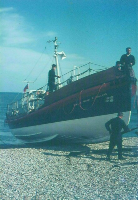 Dungeness Lifeboat in 1968