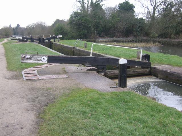 Lapworth Locks - Lock No.9