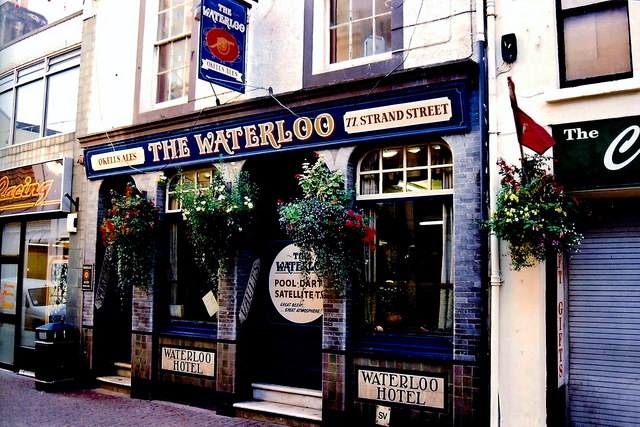 Douglas - Strand Street - The Waterloo Hotel and Pub
