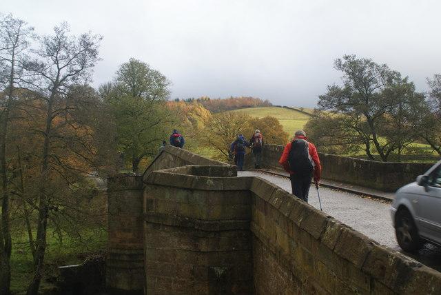 The bridge over the Derwent