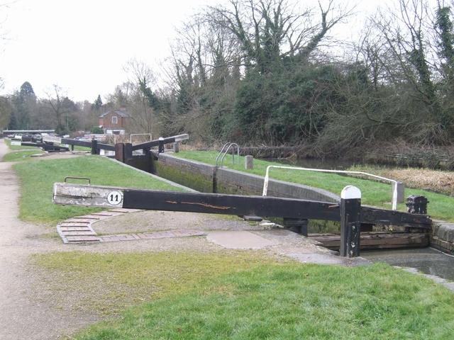 Lapworth Locks - Lock No. 11