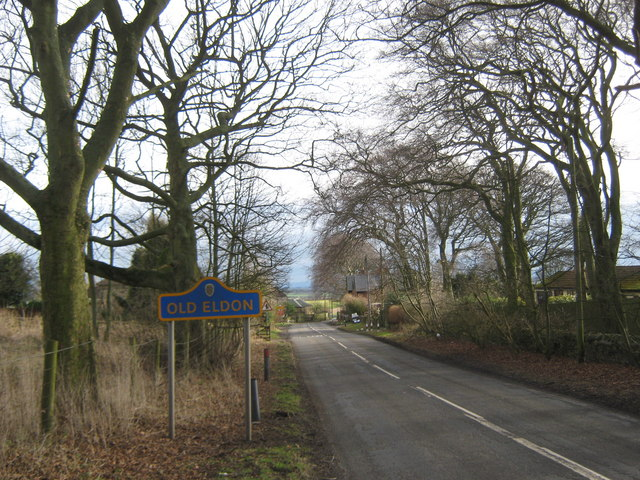Road into Old Eldon from Bishop Auckland