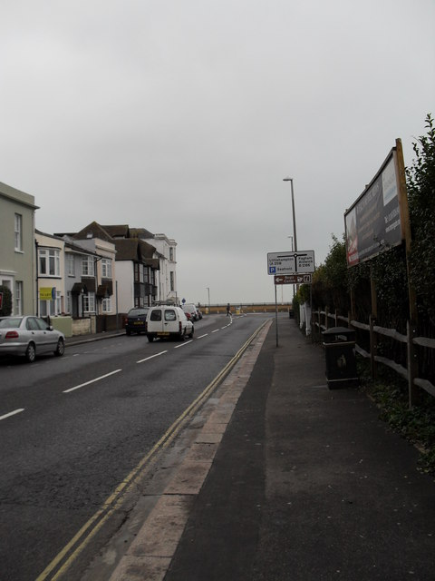 Looking down West Street towards the sea front