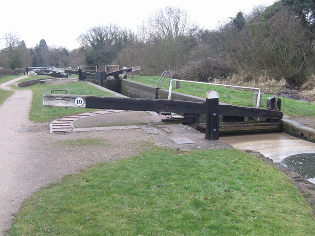 Lapworth Locks - Lock No. 10