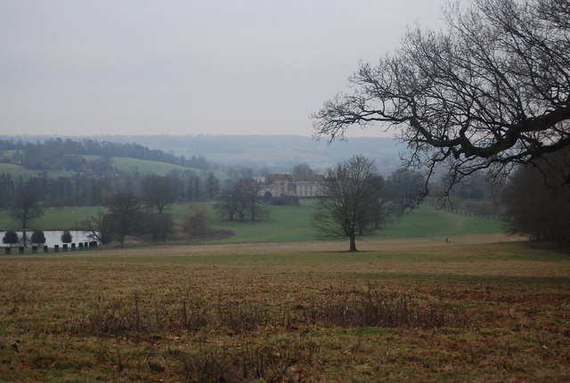 View over Penshurst Place Estate
