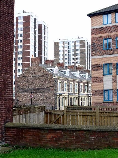 View from Byron Street, Shieldfield