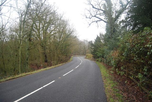 B2176 towards Penshurst