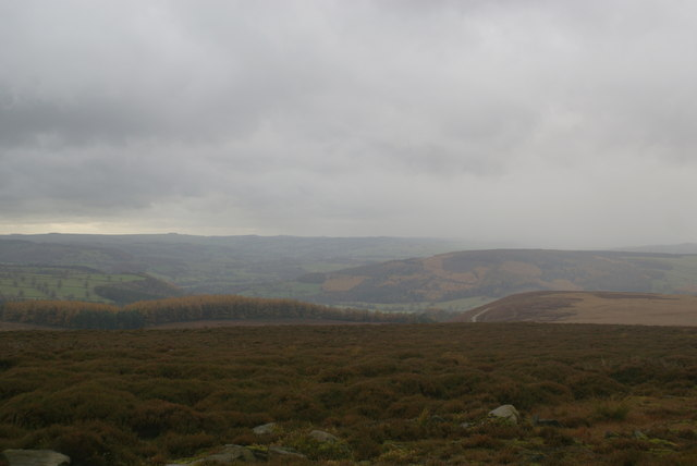 View west from Harland Edge