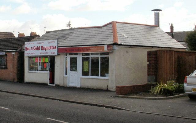 Two takeaways, Cromwell Road, Newport
