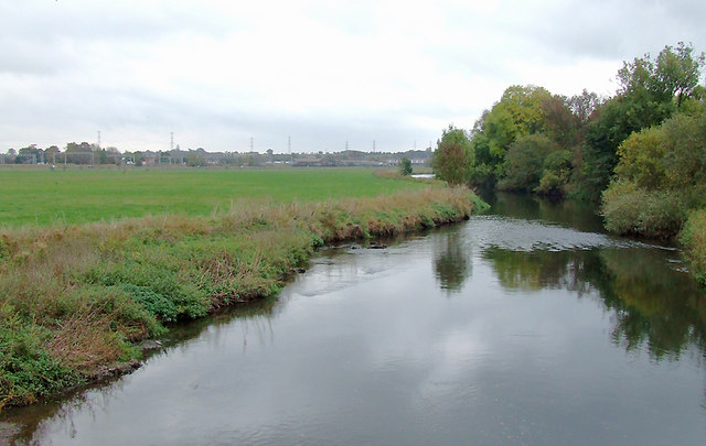 The River Trent near Rugeley, Staffordshire