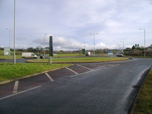 A727 roundabout