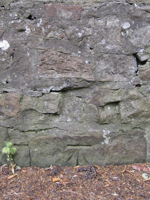 1GL Bench mark near Hawarden Castle