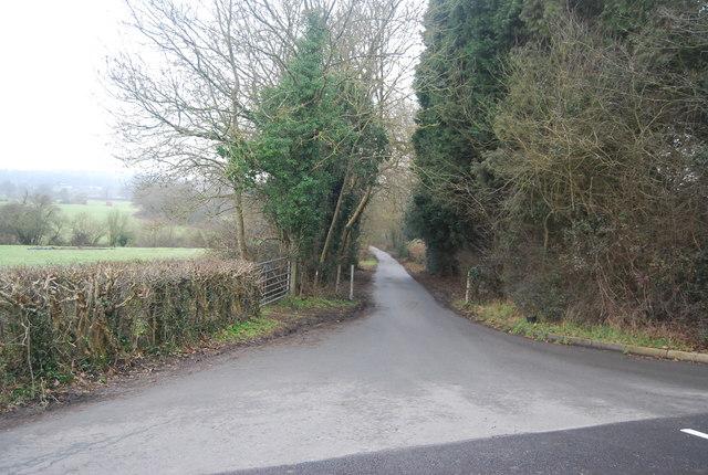 Bridleway off the B2176