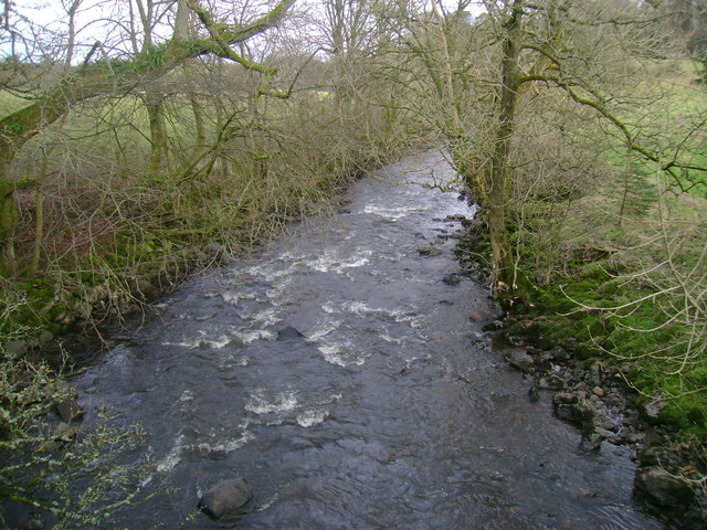 White Cart Water from Waterfoot Bridge