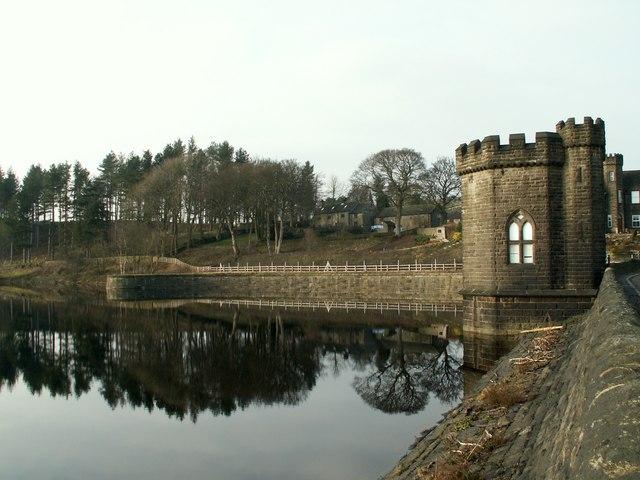 Langsett Reservoir Valve Tower & Village