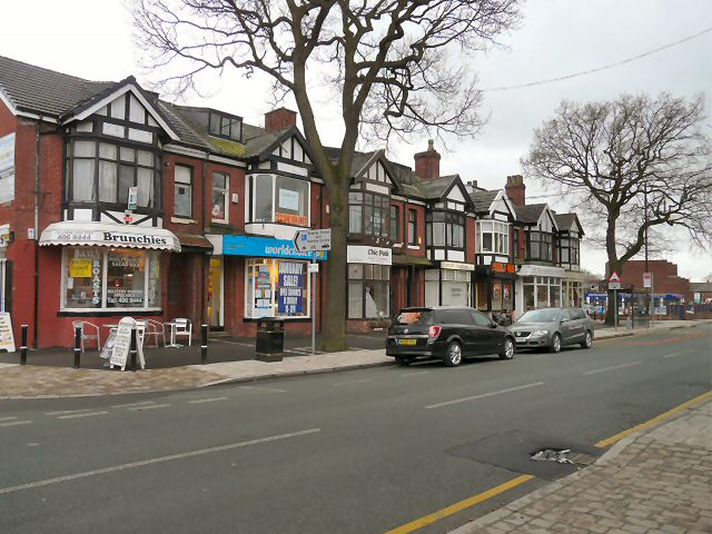 Shops on Compstall Road