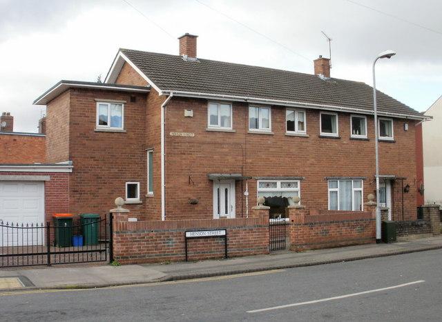 Corner of Henson Street, Newport