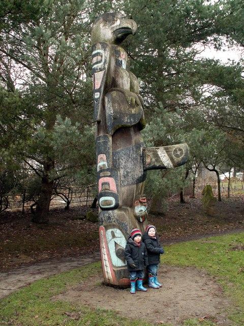 Yorkshire Sculpture Park Totem Pole