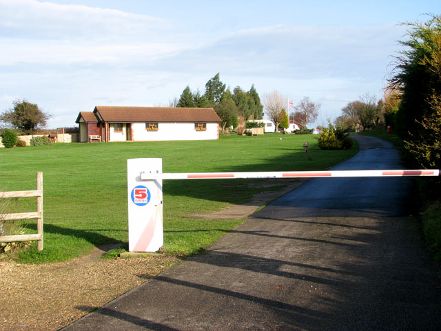 Entrance to Rose Farm Touring Park