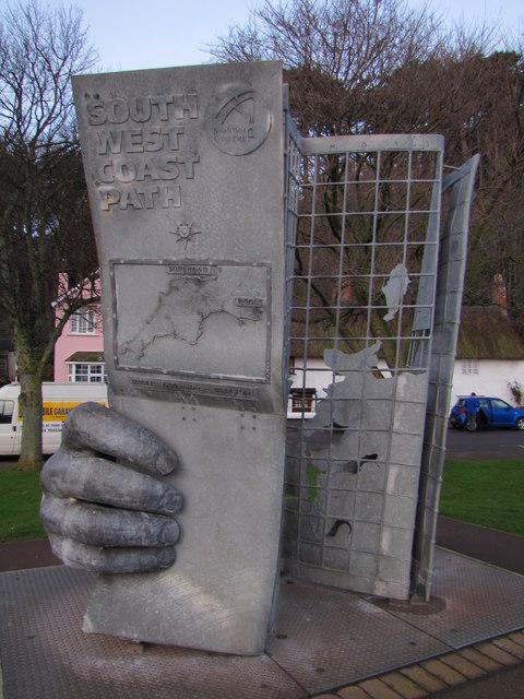 South West Coast Path Monument