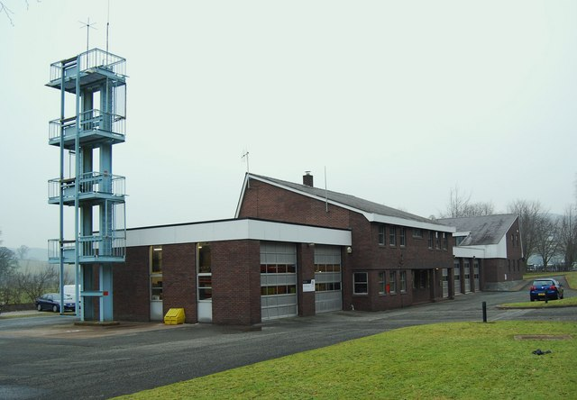 Corwen Fire & Rescue Service building
