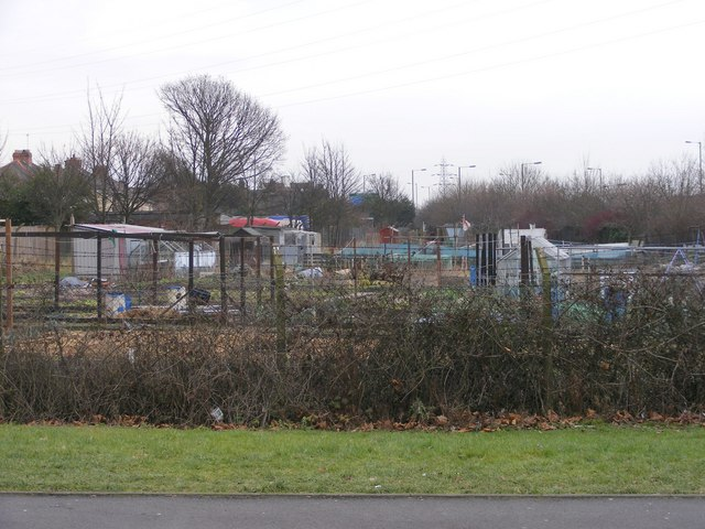 Bentley Mill Way Allotments