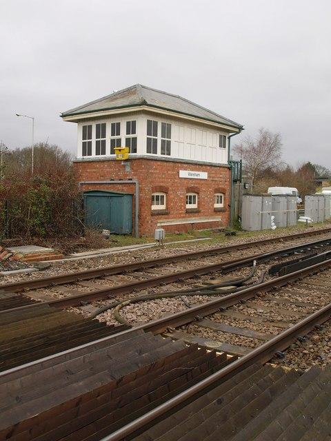 Signal box, Wareham
