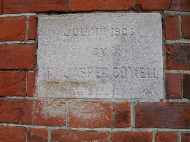 Foundation stone at  the Salvation Army hall in Bognor (1)