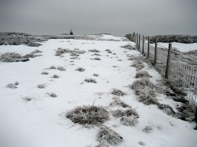 Approaching Summit of Darnbrook Fell