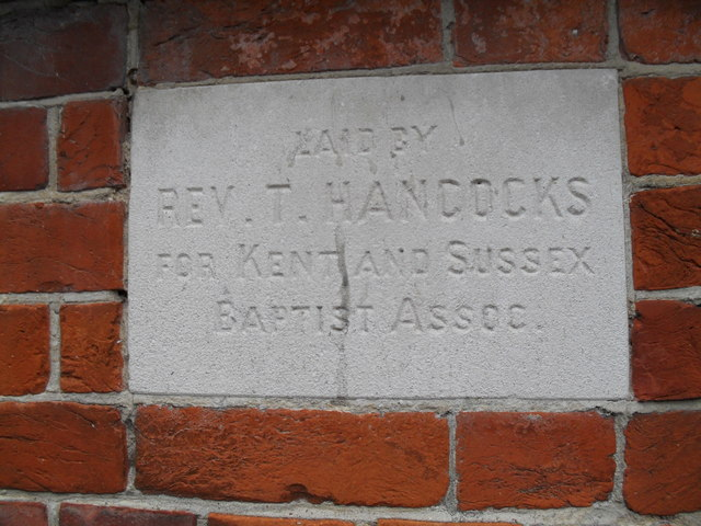 Foundation stone at  the Salvation Army hall in Bognor (3)