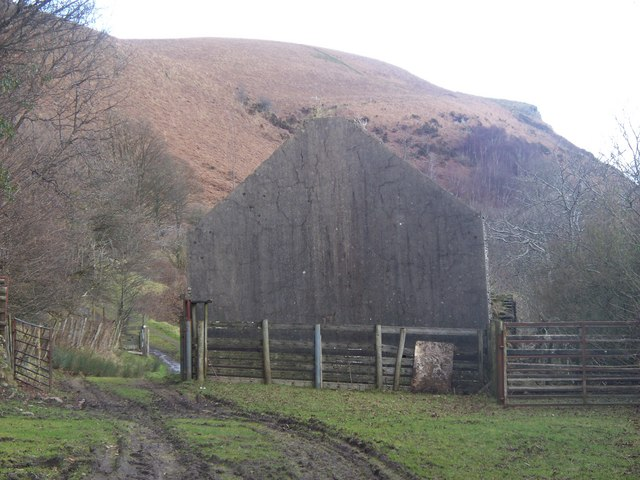 Remains of Caerwen Farm