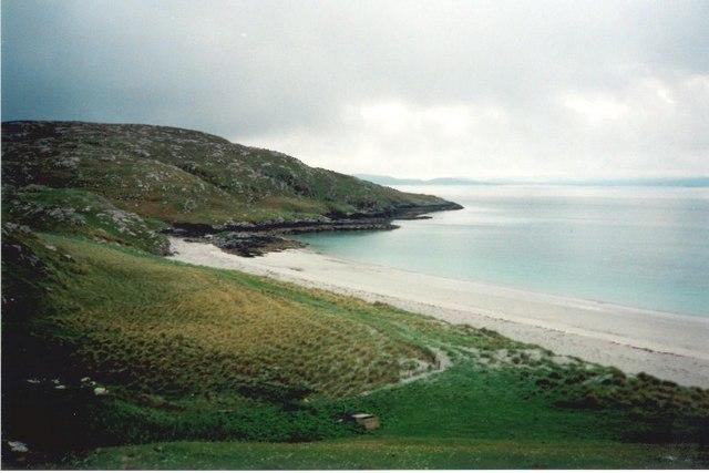 Coilleag a' Phrionnsa beach