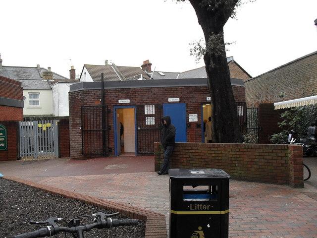 Public toilets in Bedford Street