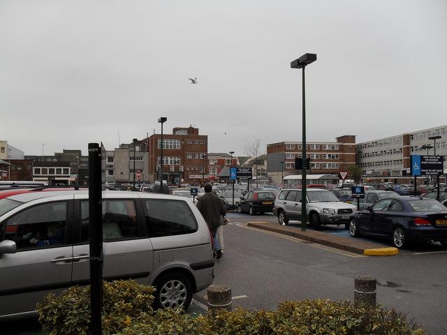 Car park between Bedford Street and Queensway
