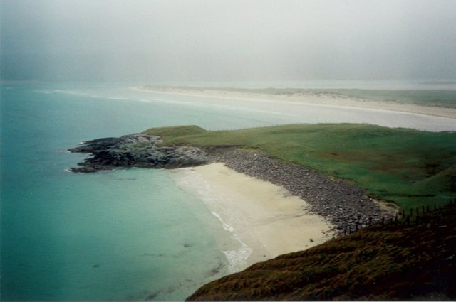 A wet day on Harris