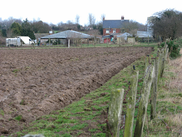View towards Doles Farm
