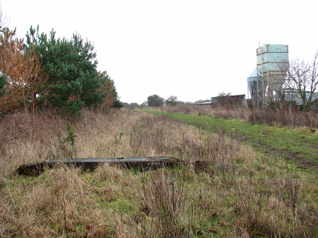Gt Yarmouth to St Olaves railway - Bradwell