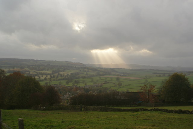 Fields above Baslow