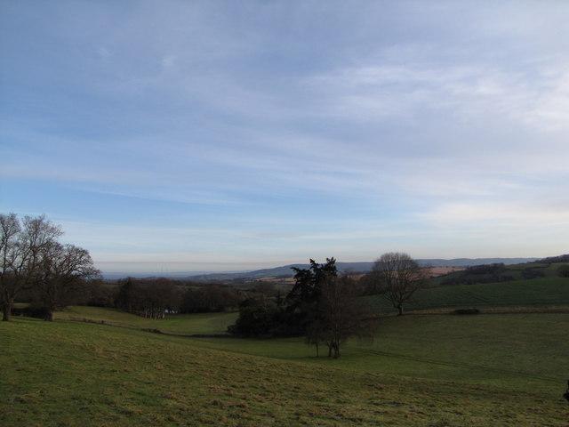 View east of Croydon Hall