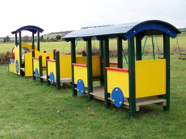 Yellow train, Bishopstone