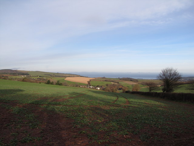 View towards the Bristol Channel
