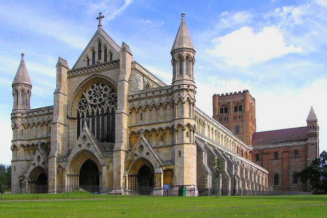 St. Alban's Abbey, St. Albans, Herts.