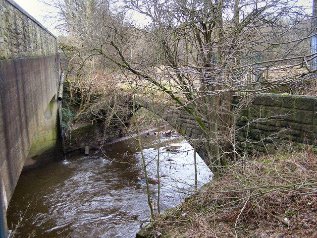 River Roch, bridge at Roch Valley Way